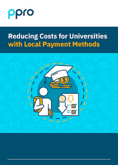 Reducing Costs for Universities with Local Payment Methods